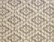Fibreworks- Carpet- Argyle-Crystalline (Ivory)