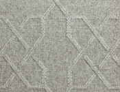 Fibreworks- Carpet- Baroque - Silver Ribbon (Grey)