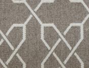Fibreworks- Carpet- Baroque - Silver Wings (Grey)