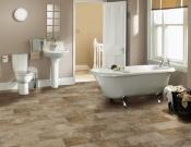 Coretec-plank-Coretec-Plus-Tile-Bronzed Stone