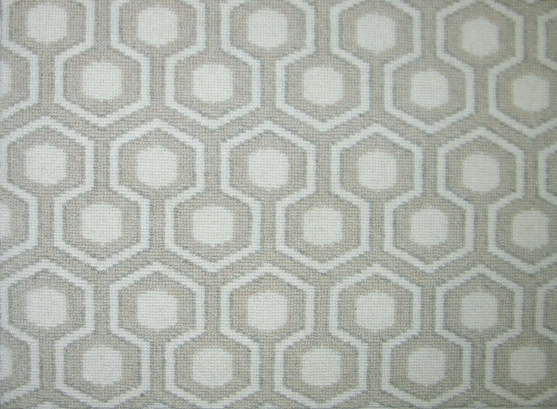 Buy Hexagon House By Prestige Pattern Wool Carpets In Dalton