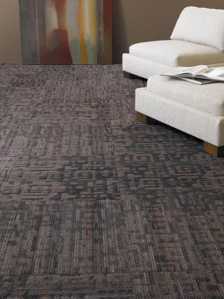 Fanatic Shaw Queen Tile Nylon Commercial Carpet
