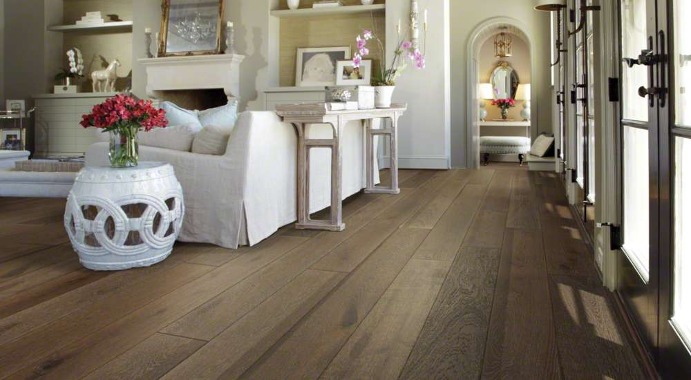 Castlewood Oak By Shaw Hardwood