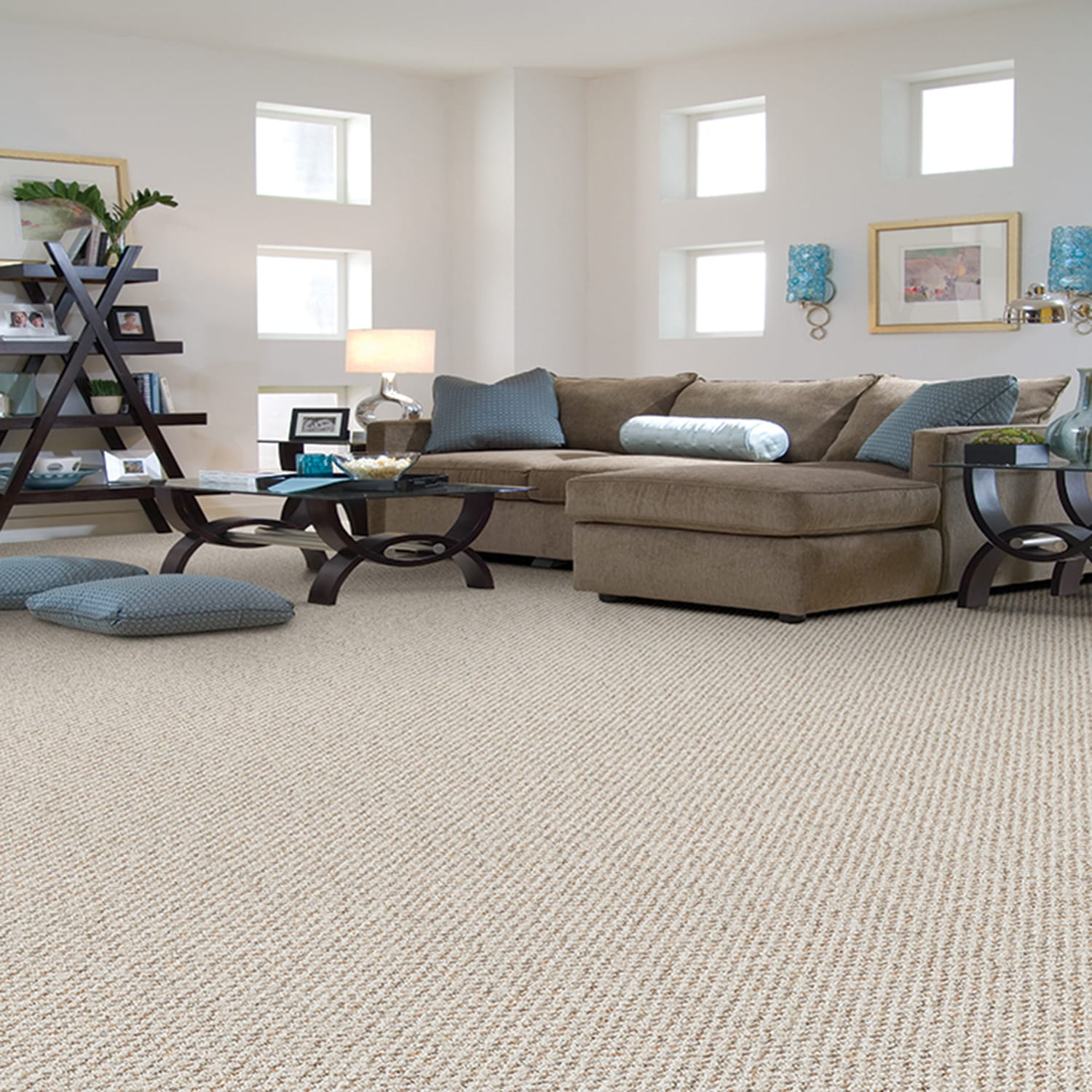 woodbine by kraus textured loop carpets in dalton