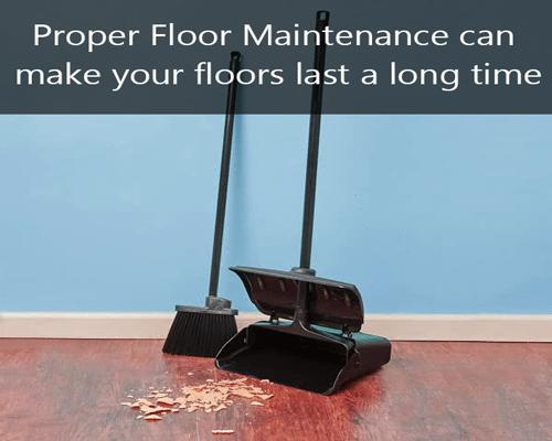 Proper Floor Maintenance LVT Cleaning